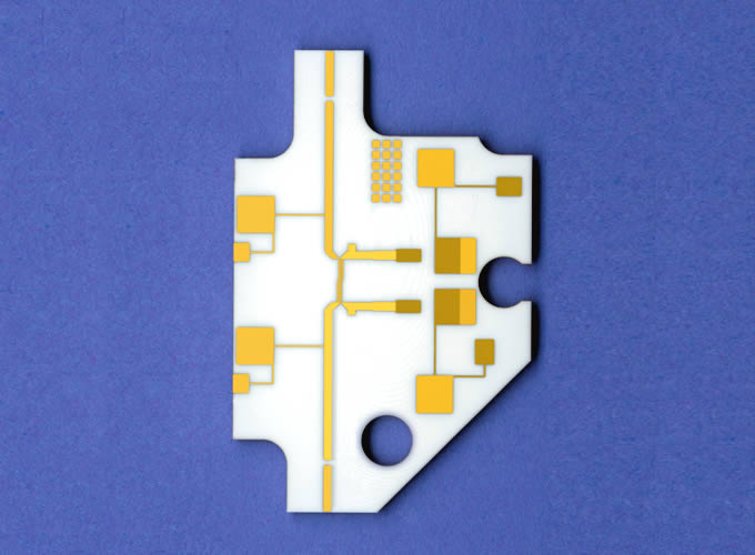 Thin film microcircuit
